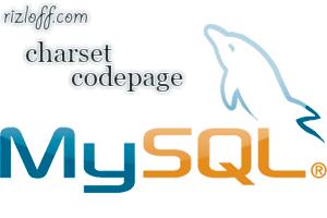 Кодировки БД MySQL